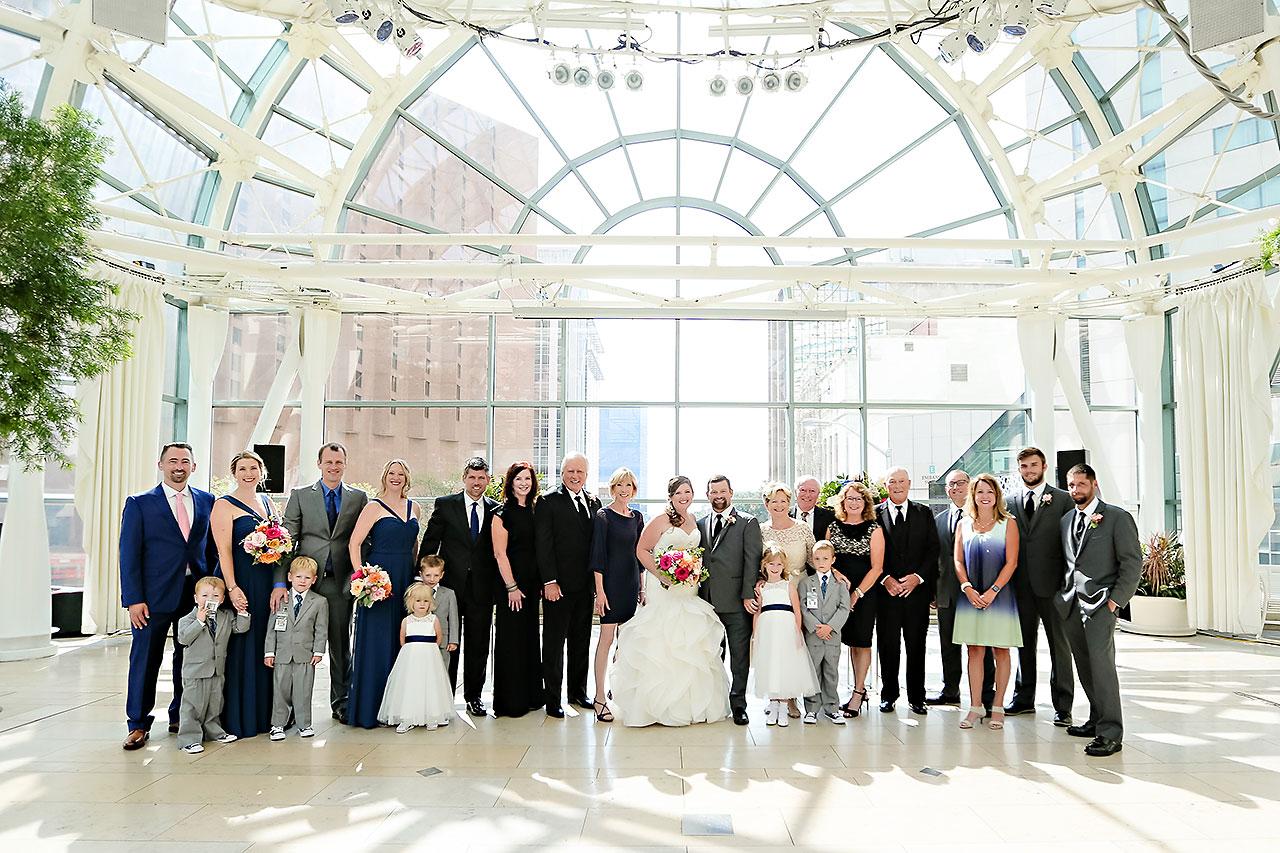 Erin John Artsgarden Indianapolis Wedding 181
