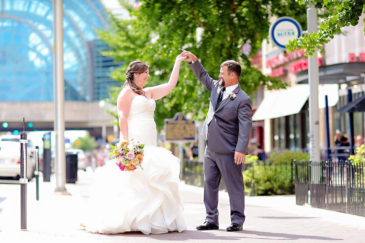 Erin John Artsgarden Indianapolis Wedding 162