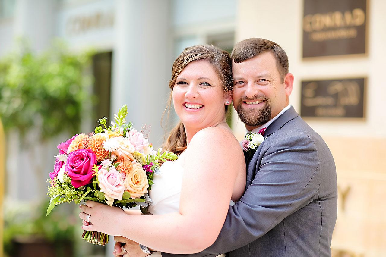 Erin John Artsgarden Indianapolis Wedding 163