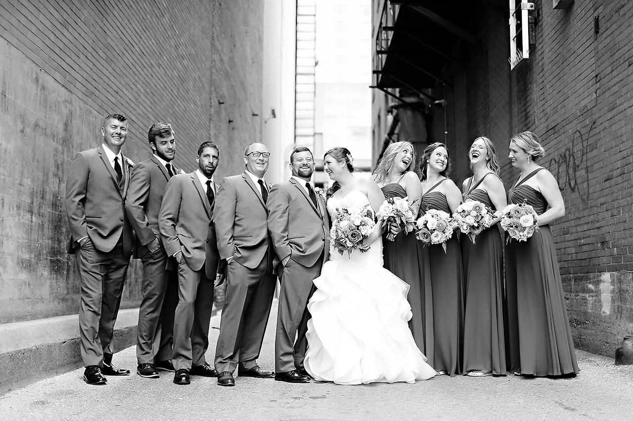 Erin John Artsgarden Indianapolis Wedding 160