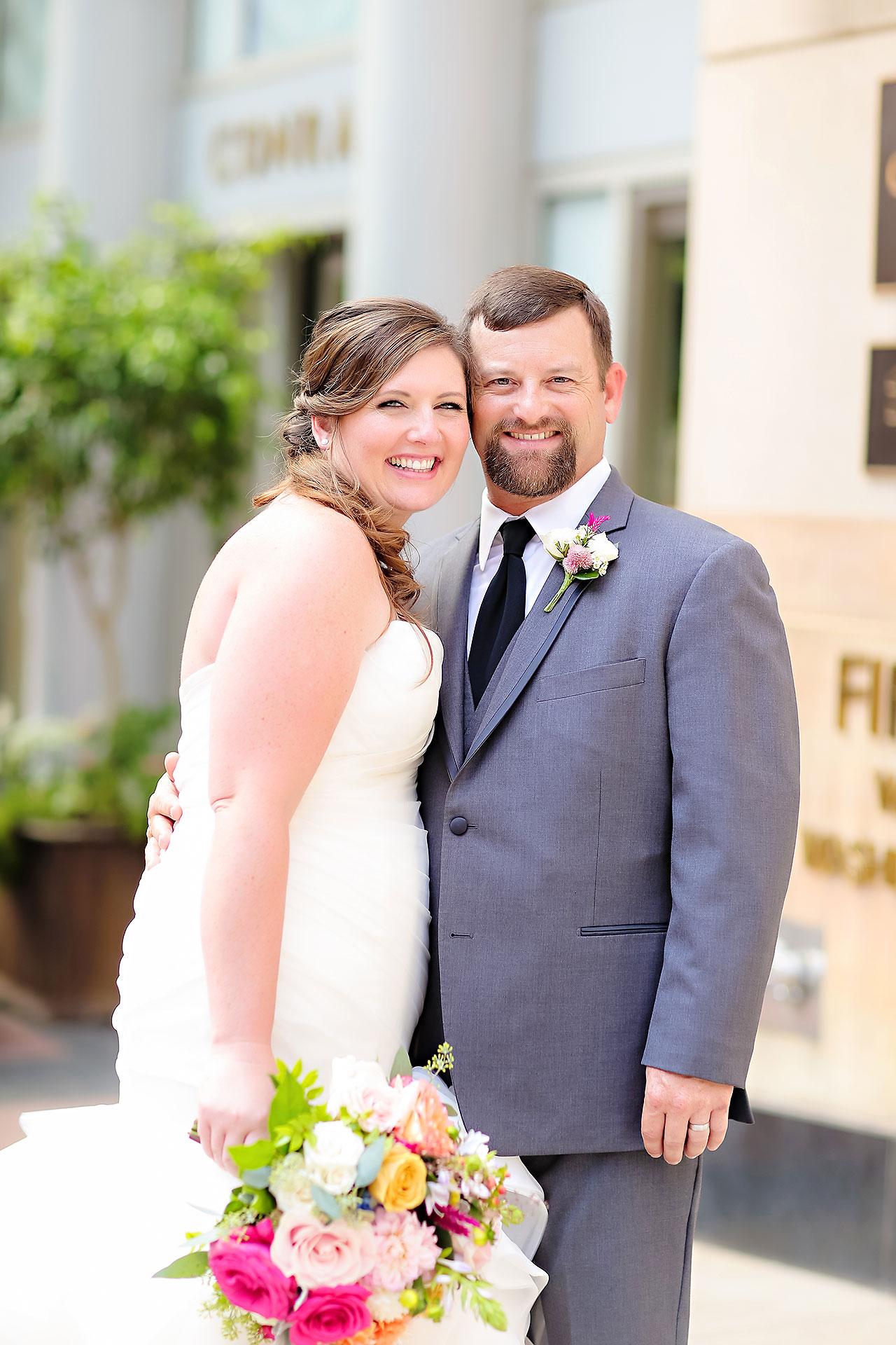Erin John Artsgarden Indianapolis Wedding 157