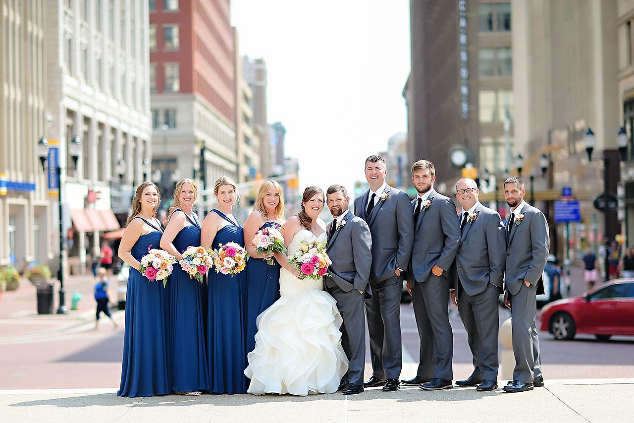 Erin John Artsgarden Indianapolis Wedding 158