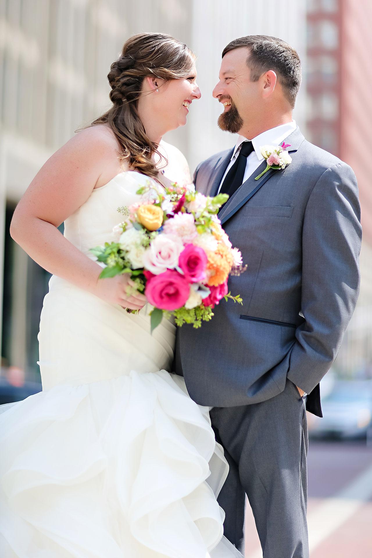 Erin John Artsgarden Indianapolis Wedding 155