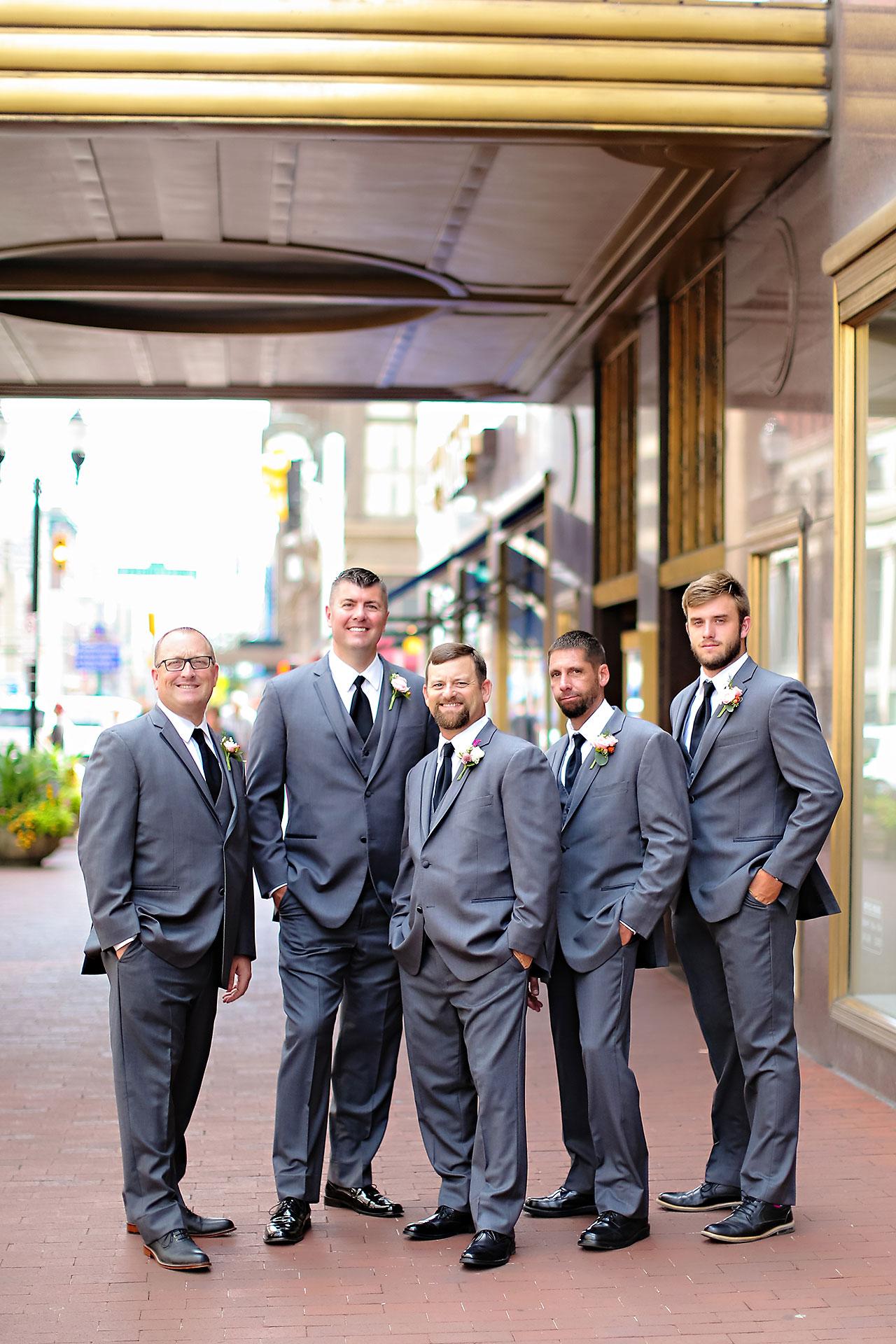 Erin John Artsgarden Indianapolis Wedding 151