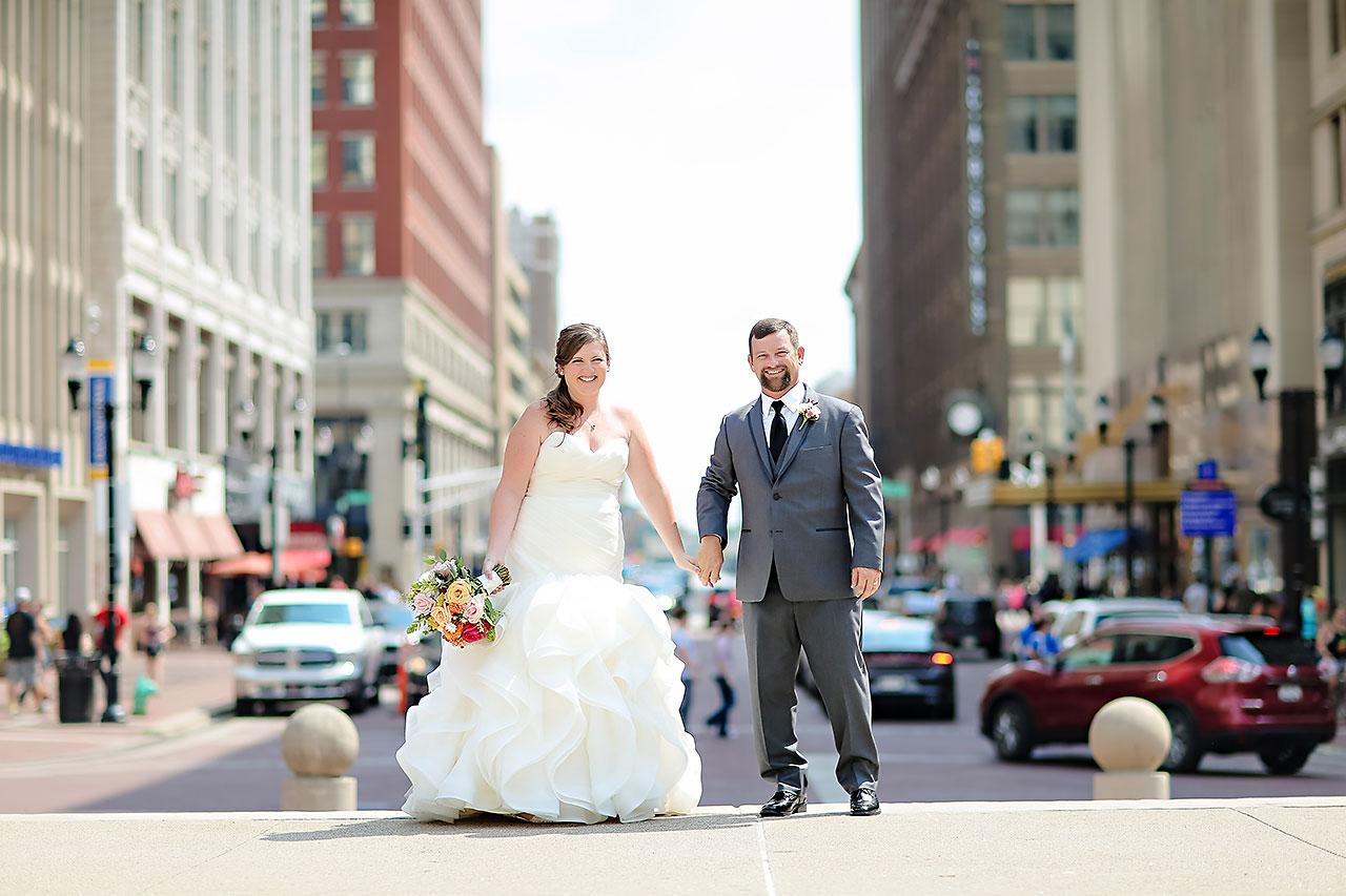 Erin John Artsgarden Indianapolis Wedding 145