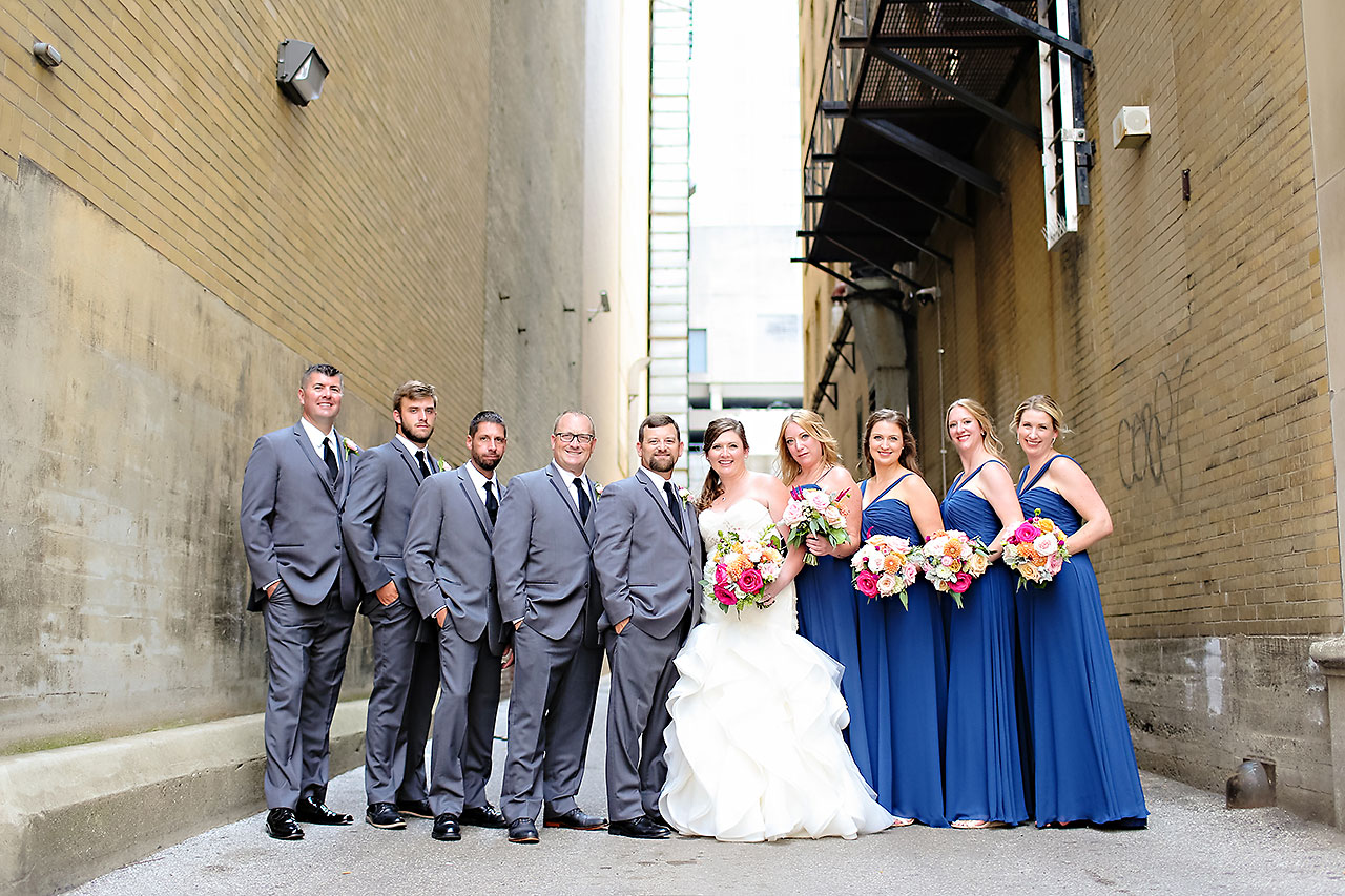 Erin John Artsgarden Indianapolis Wedding 143
