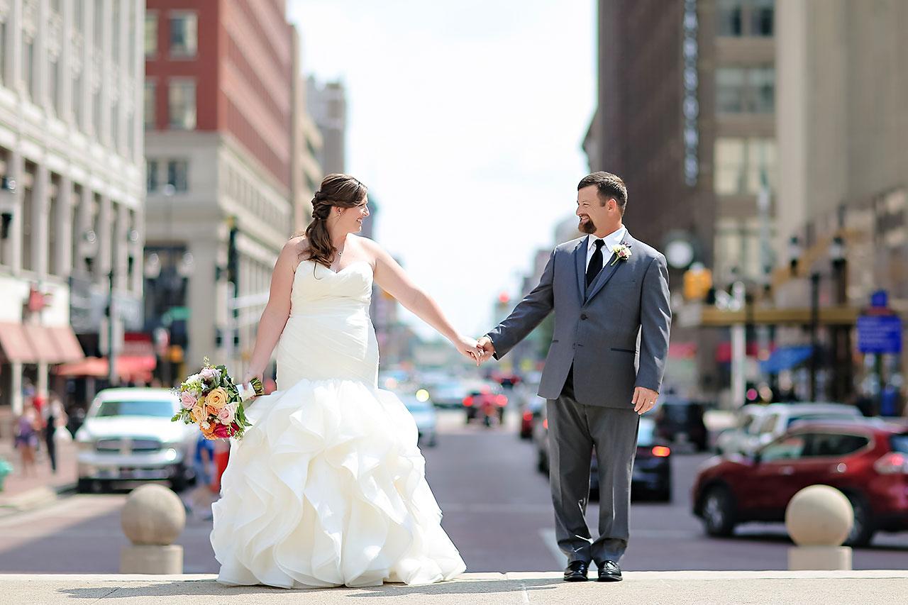 Erin John Artsgarden Indianapolis Wedding 139