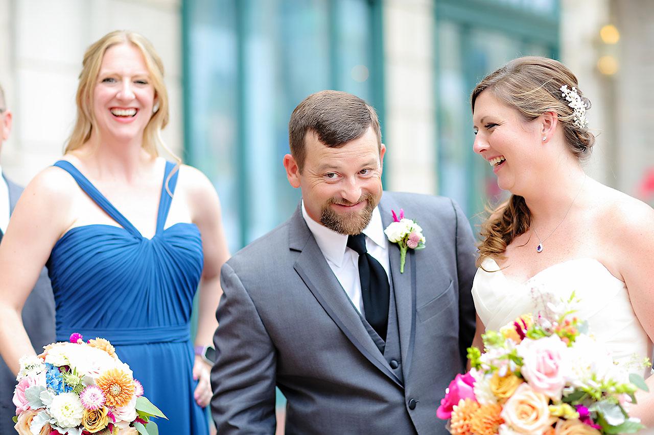 Erin John Artsgarden Indianapolis Wedding 140