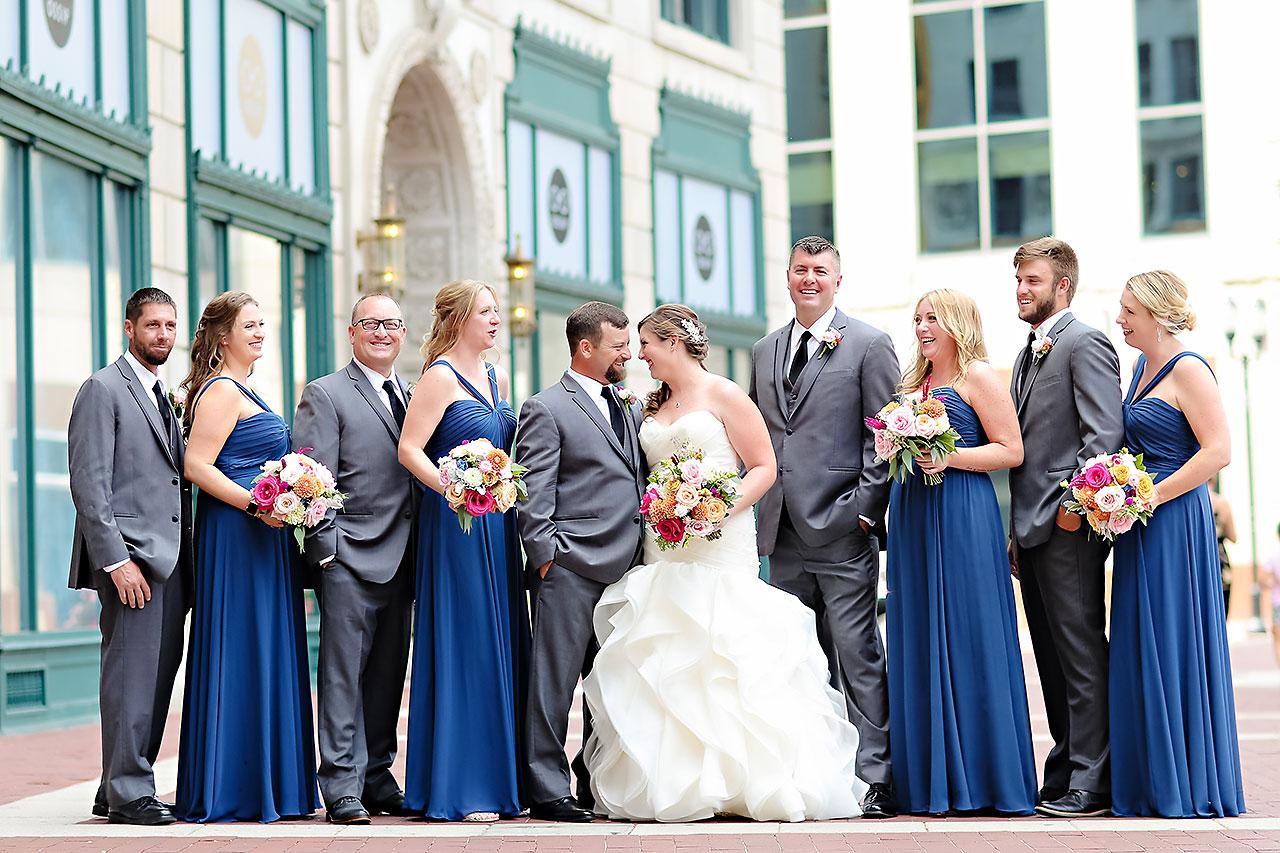 Erin John Artsgarden Indianapolis Wedding 141