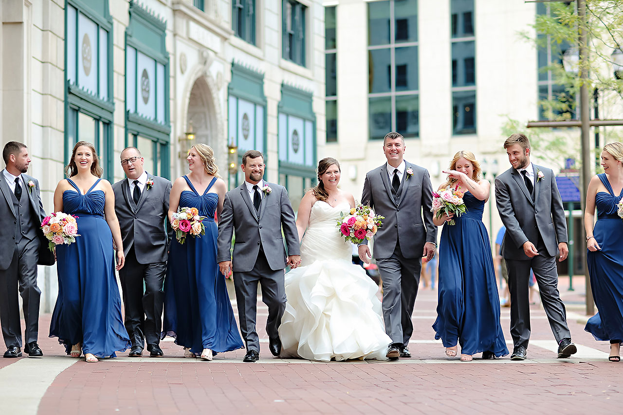 Erin John Artsgarden Indianapolis Wedding 125