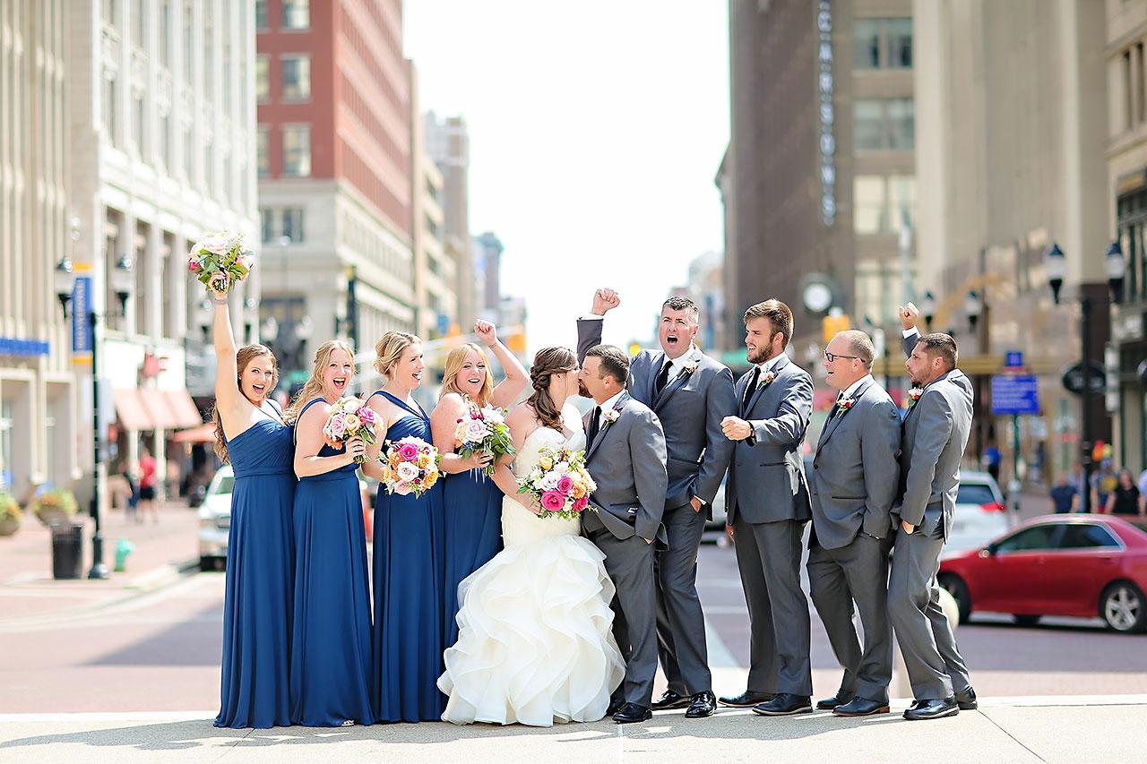 Erin John Artsgarden Indianapolis Wedding 122