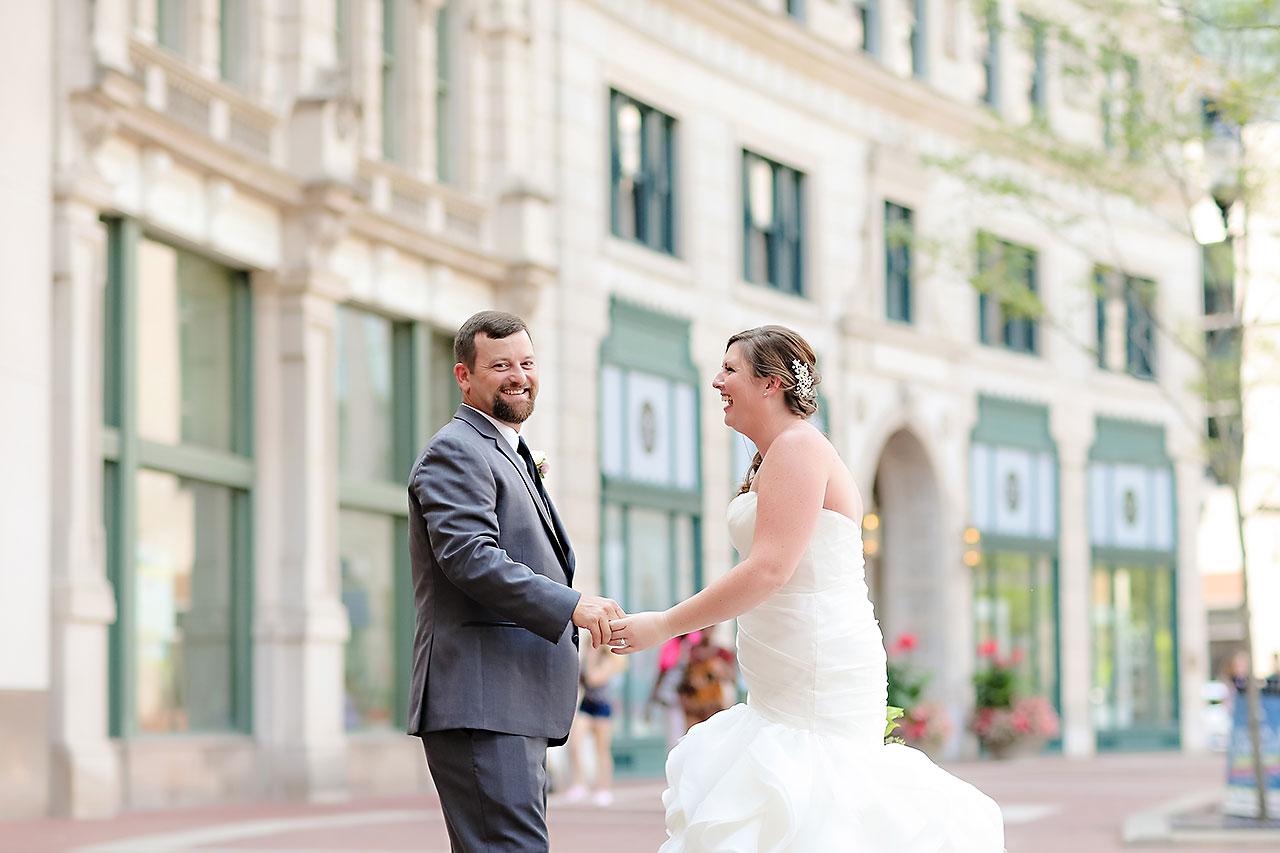 Erin John Artsgarden Indianapolis Wedding 119