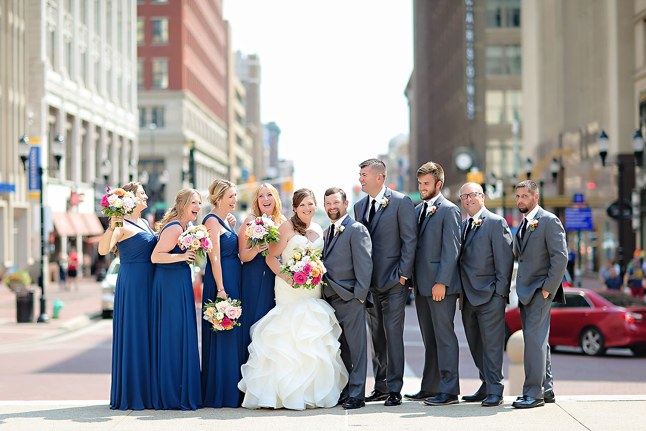 Erin John Artsgarden Indianapolis Wedding 114