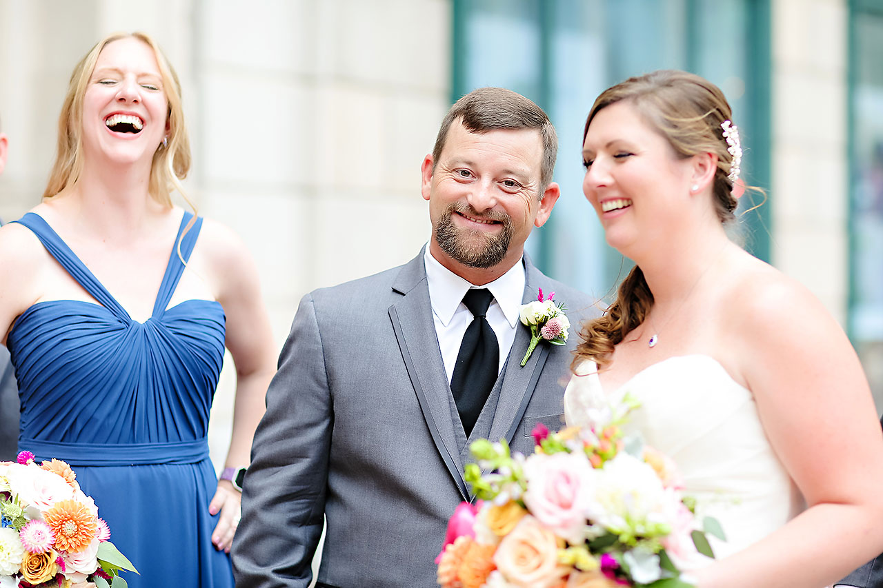 Erin John Artsgarden Indianapolis Wedding 115