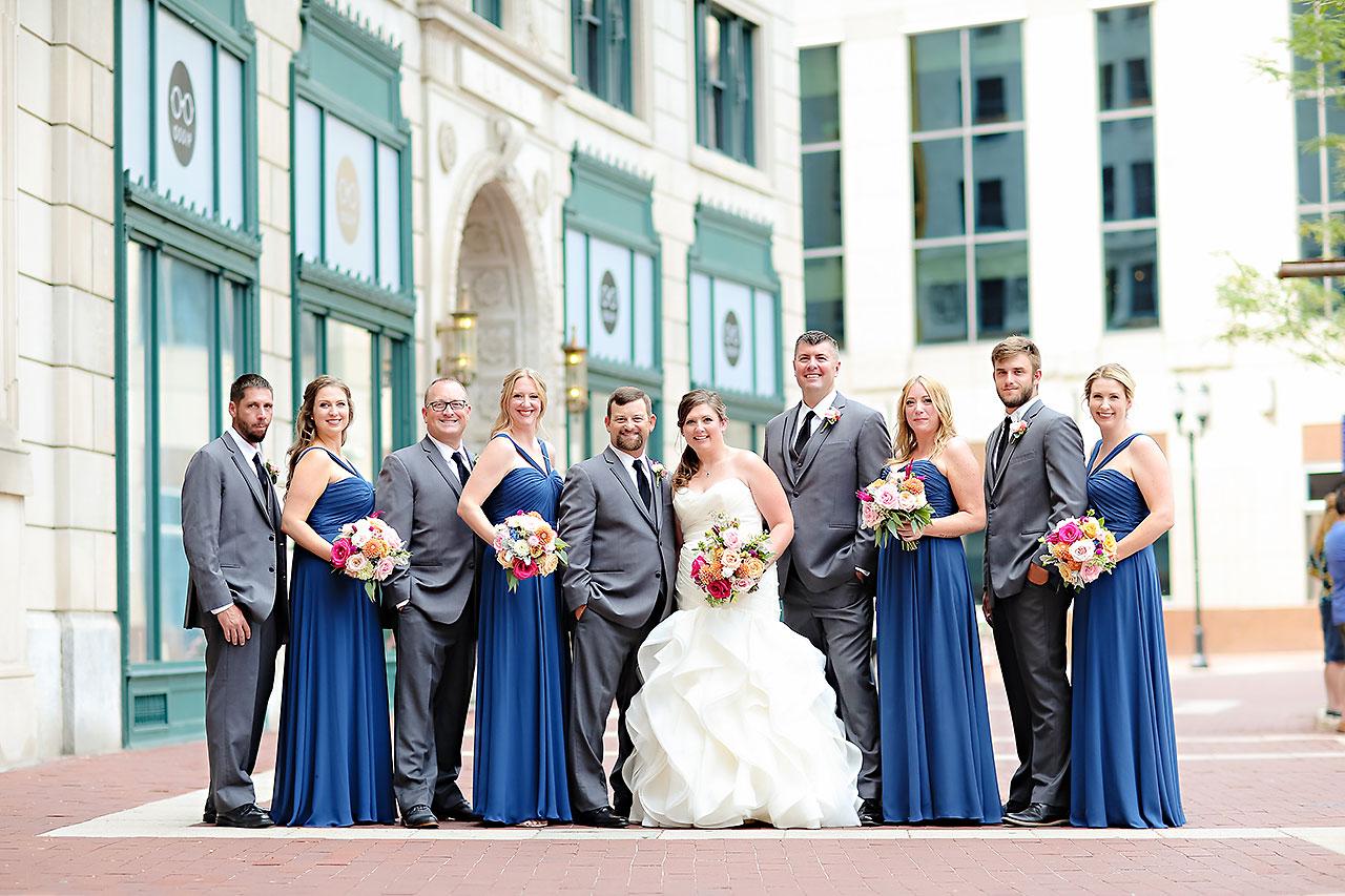 Erin John Artsgarden Indianapolis Wedding 116