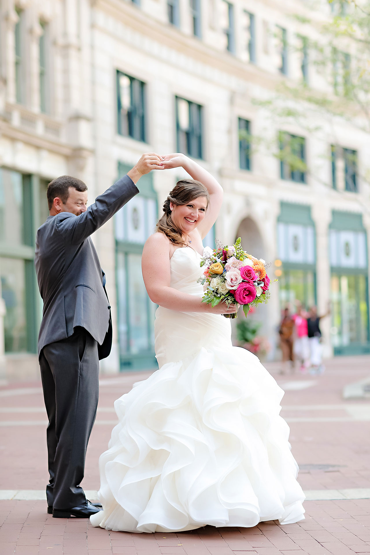 Erin John Artsgarden Indianapolis Wedding 105