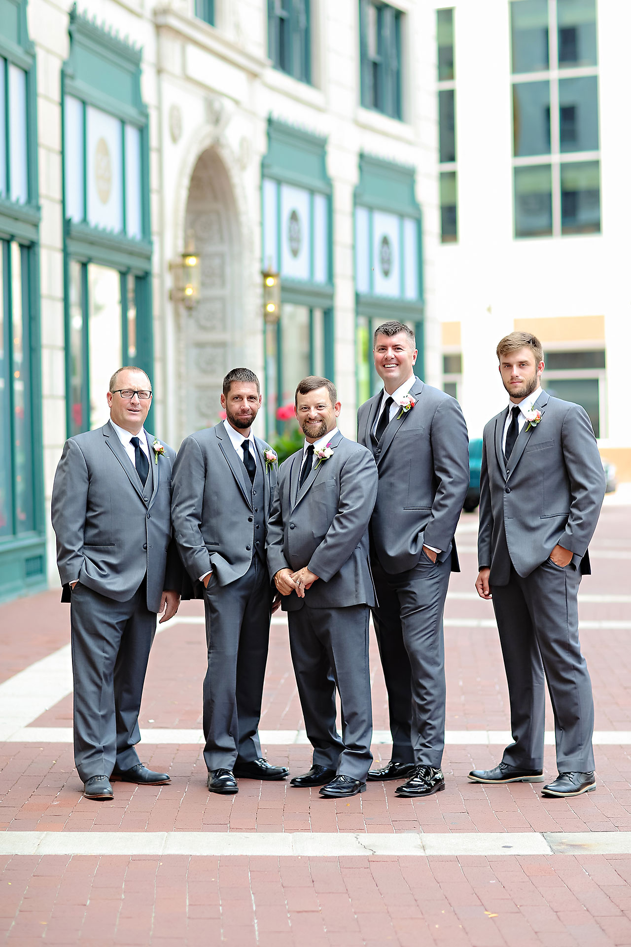Erin John Artsgarden Indianapolis Wedding 107
