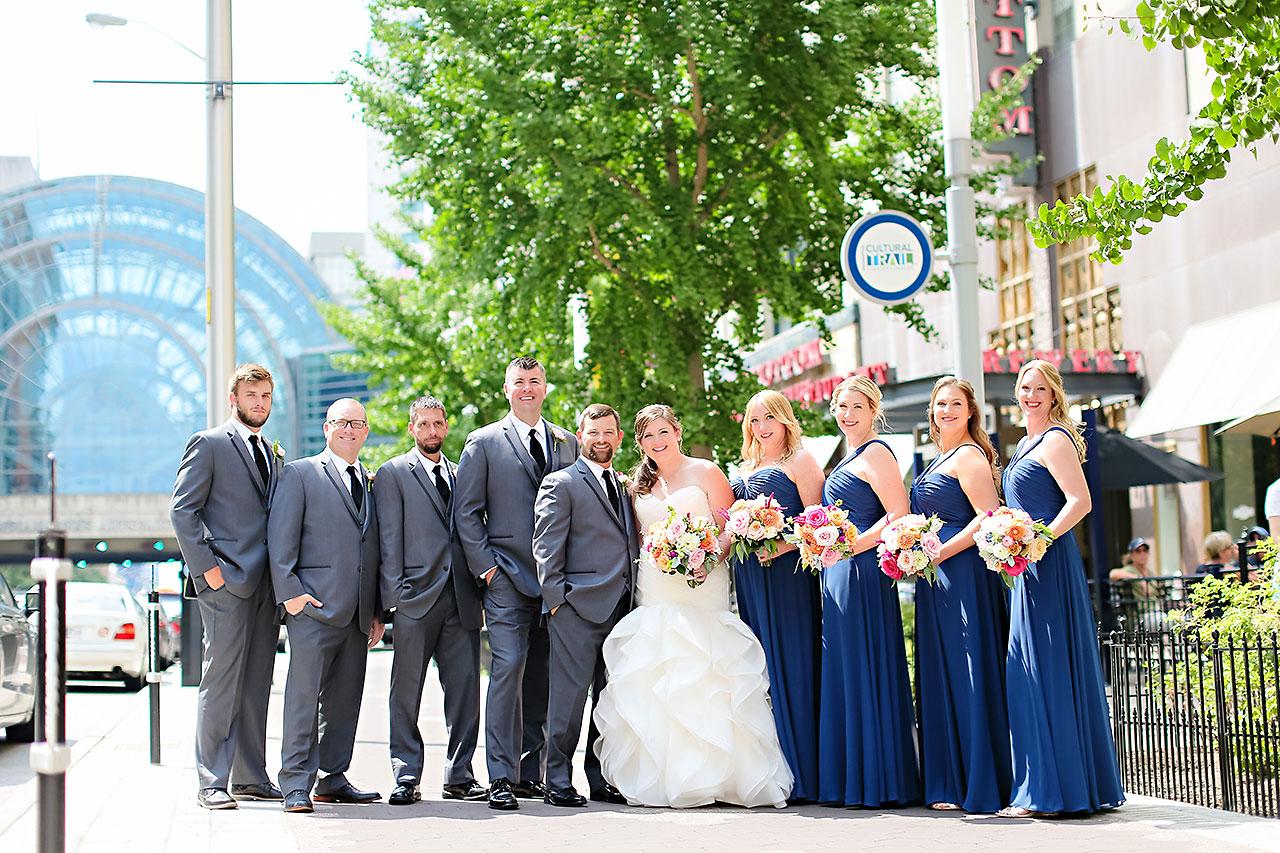 Erin John Artsgarden Indianapolis Wedding 093