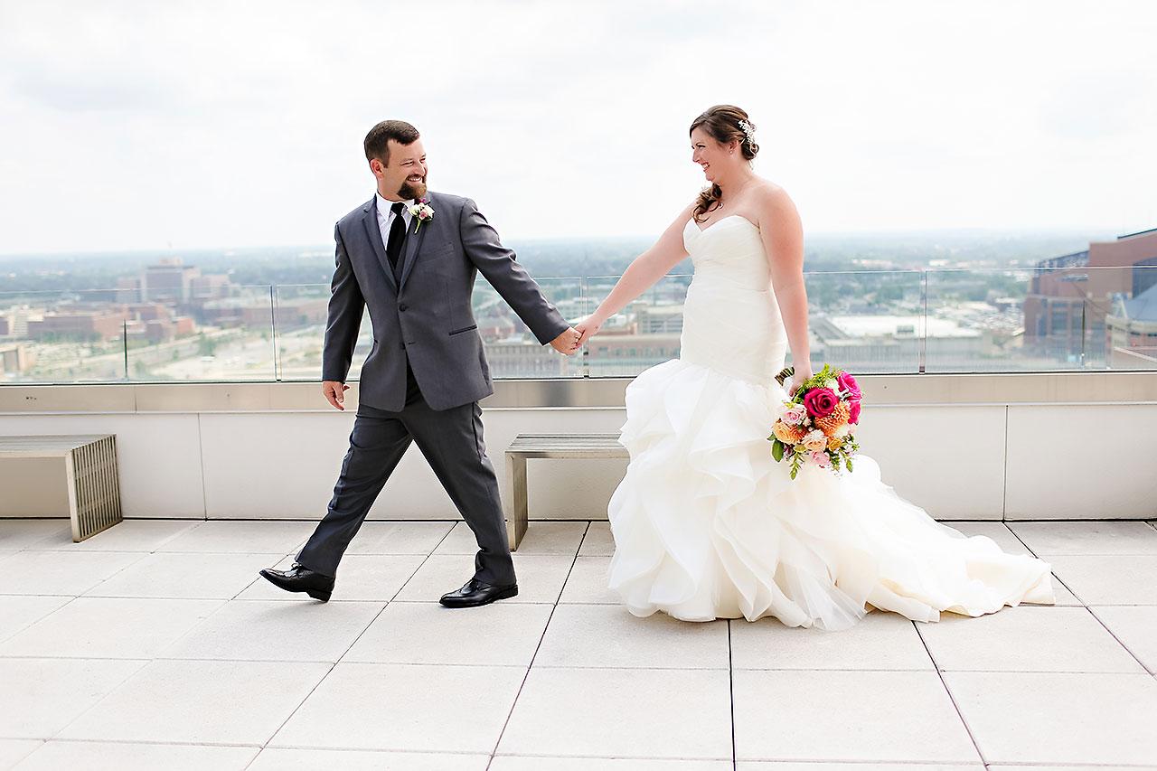 Erin John Artsgarden Indianapolis Wedding 090