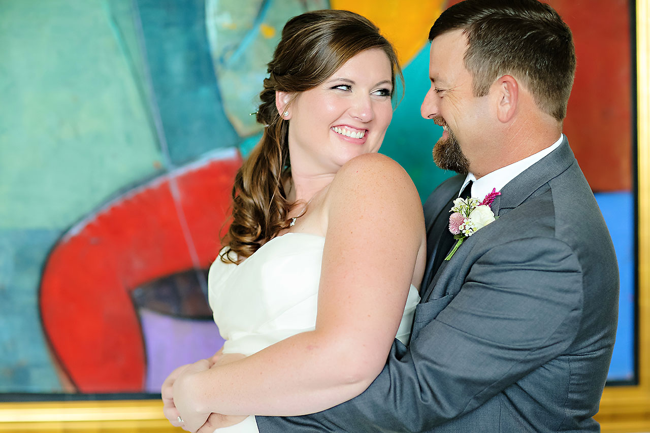 Erin John Artsgarden Indianapolis Wedding 077