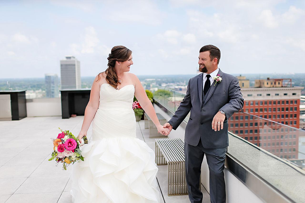 Erin John Artsgarden Indianapolis Wedding 071