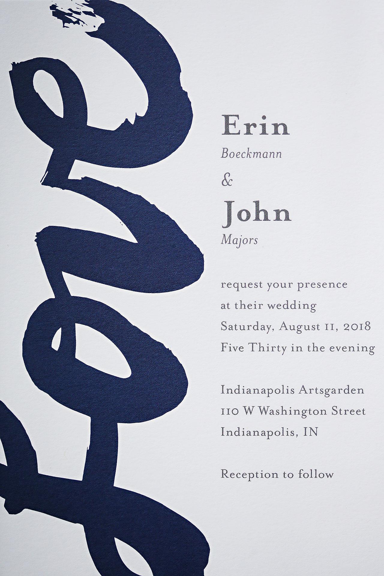 Erin John Artsgarden Indianapolis Wedding 021