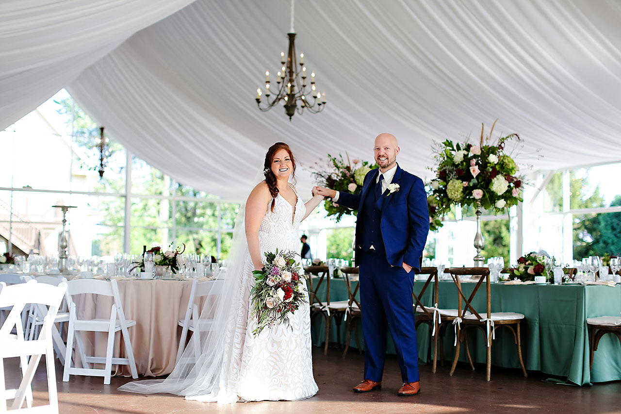 Jen Chris Ritz Charles Garden Pavilion Wedding 241