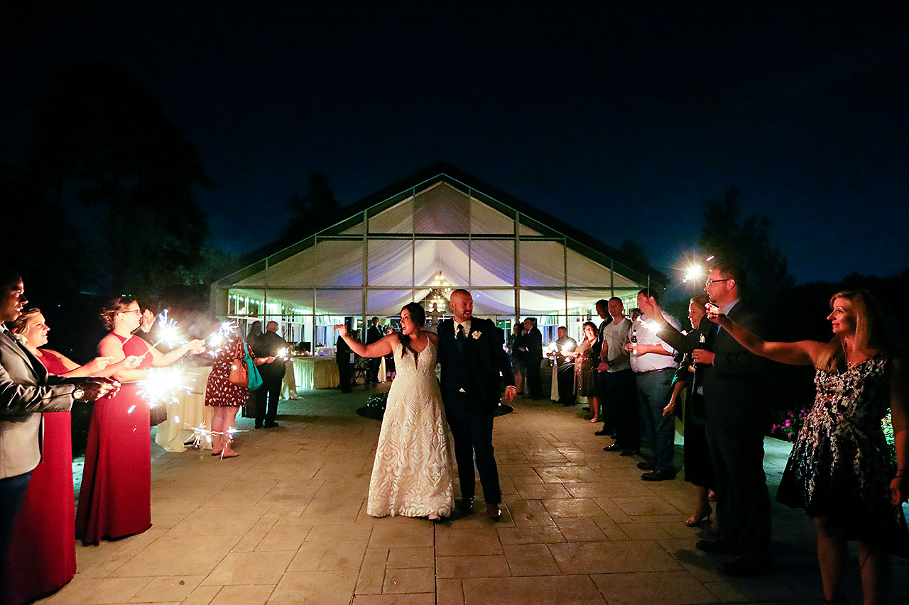 Jen Chris Ritz Charles Garden Pavilion Wedding 396