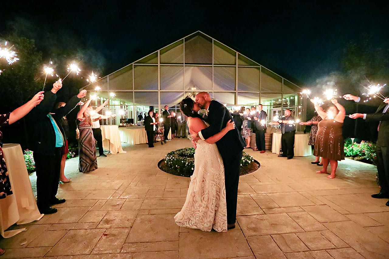 Jen Chris Ritz Charles Garden Pavilion Wedding 393