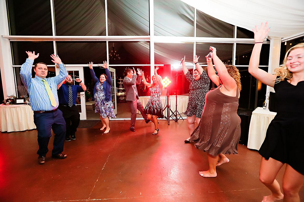 Jen Chris Ritz Charles Garden Pavilion Wedding 390