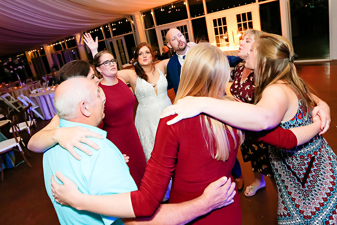 Jen Chris Ritz Charles Garden Pavilion Wedding 391