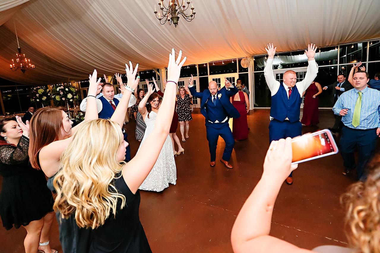 Jen Chris Ritz Charles Garden Pavilion Wedding 388