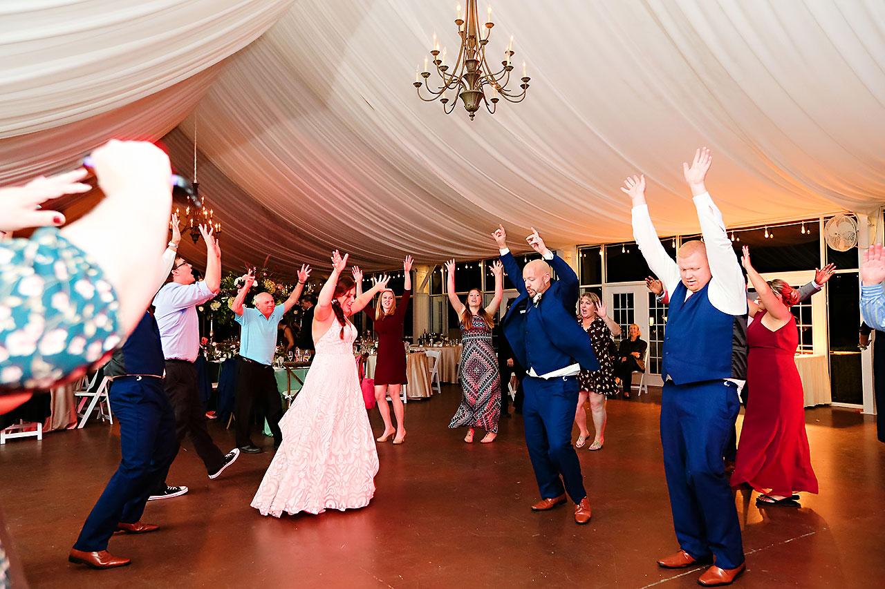 Jen Chris Ritz Charles Garden Pavilion Wedding 389