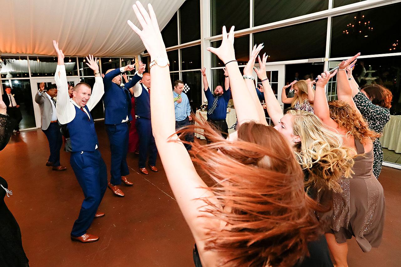 Jen Chris Ritz Charles Garden Pavilion Wedding 387