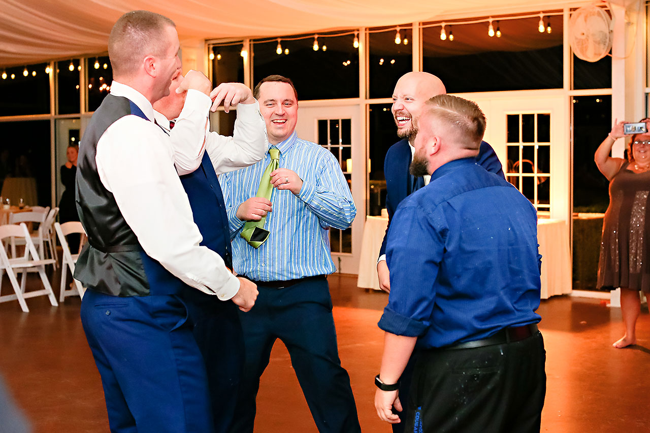 Jen Chris Ritz Charles Garden Pavilion Wedding 384