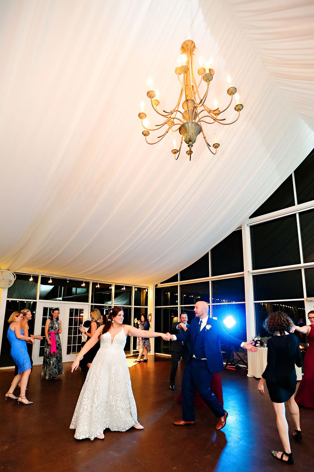 Jen Chris Ritz Charles Garden Pavilion Wedding 378