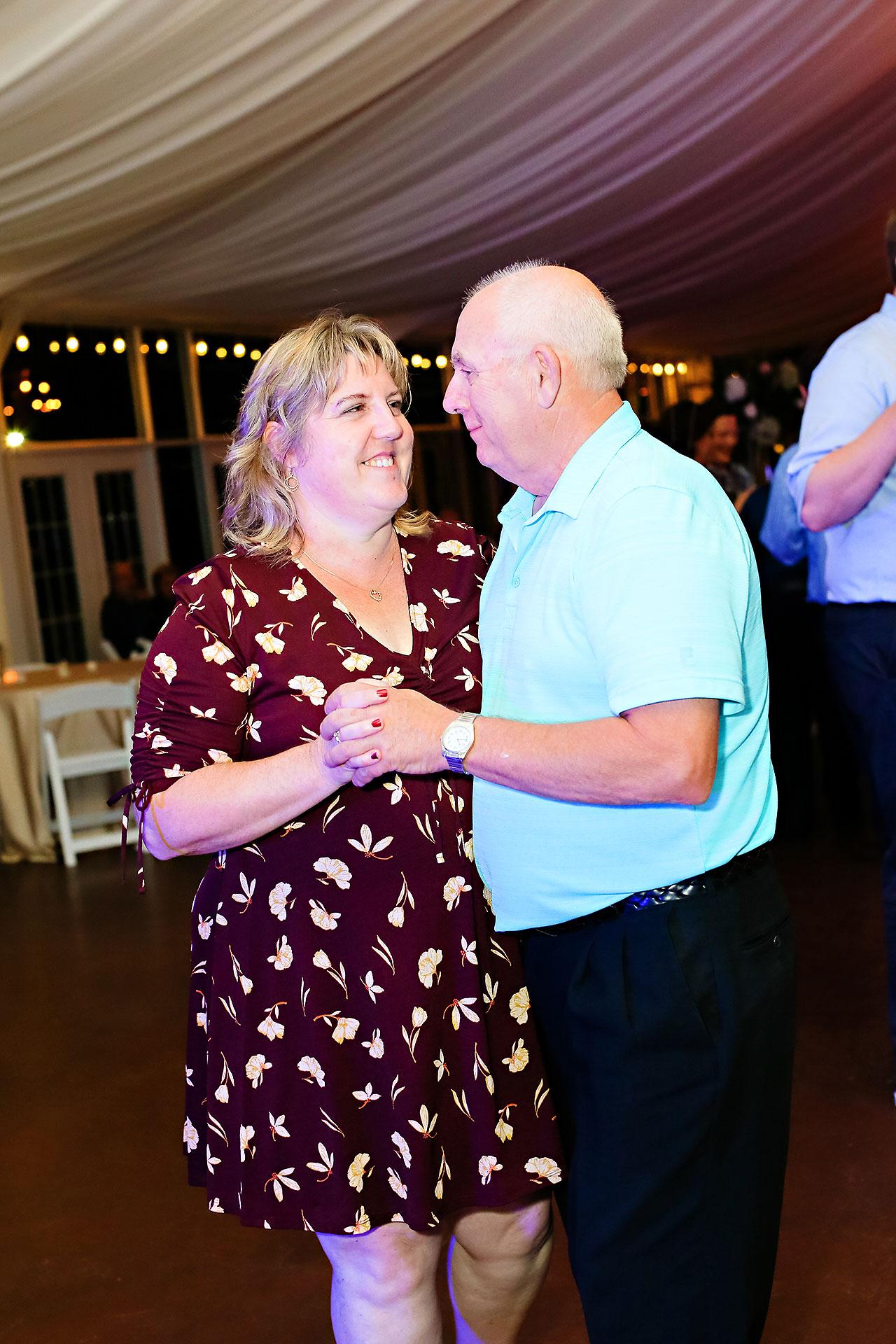Jen Chris Ritz Charles Garden Pavilion Wedding 380