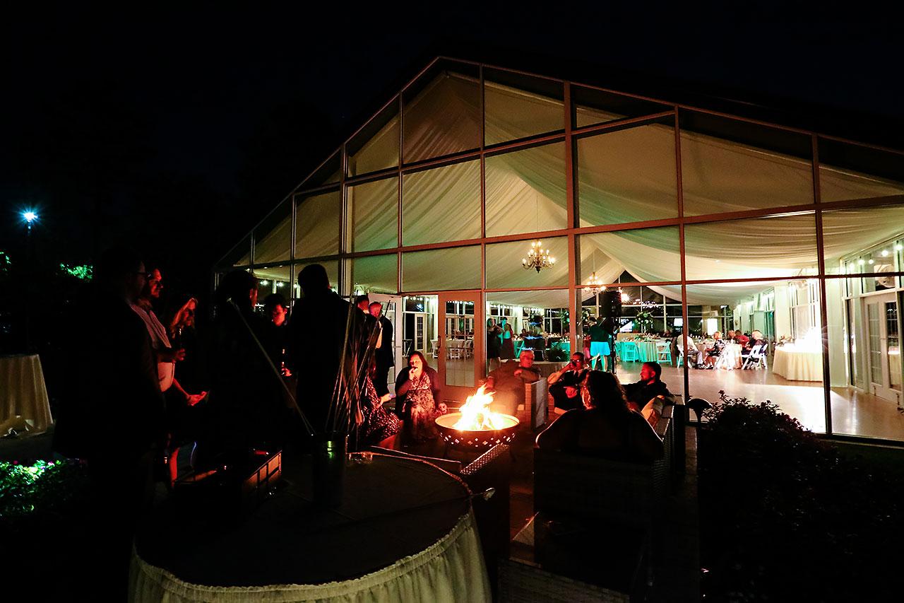 Jen Chris Ritz Charles Garden Pavilion Wedding 376