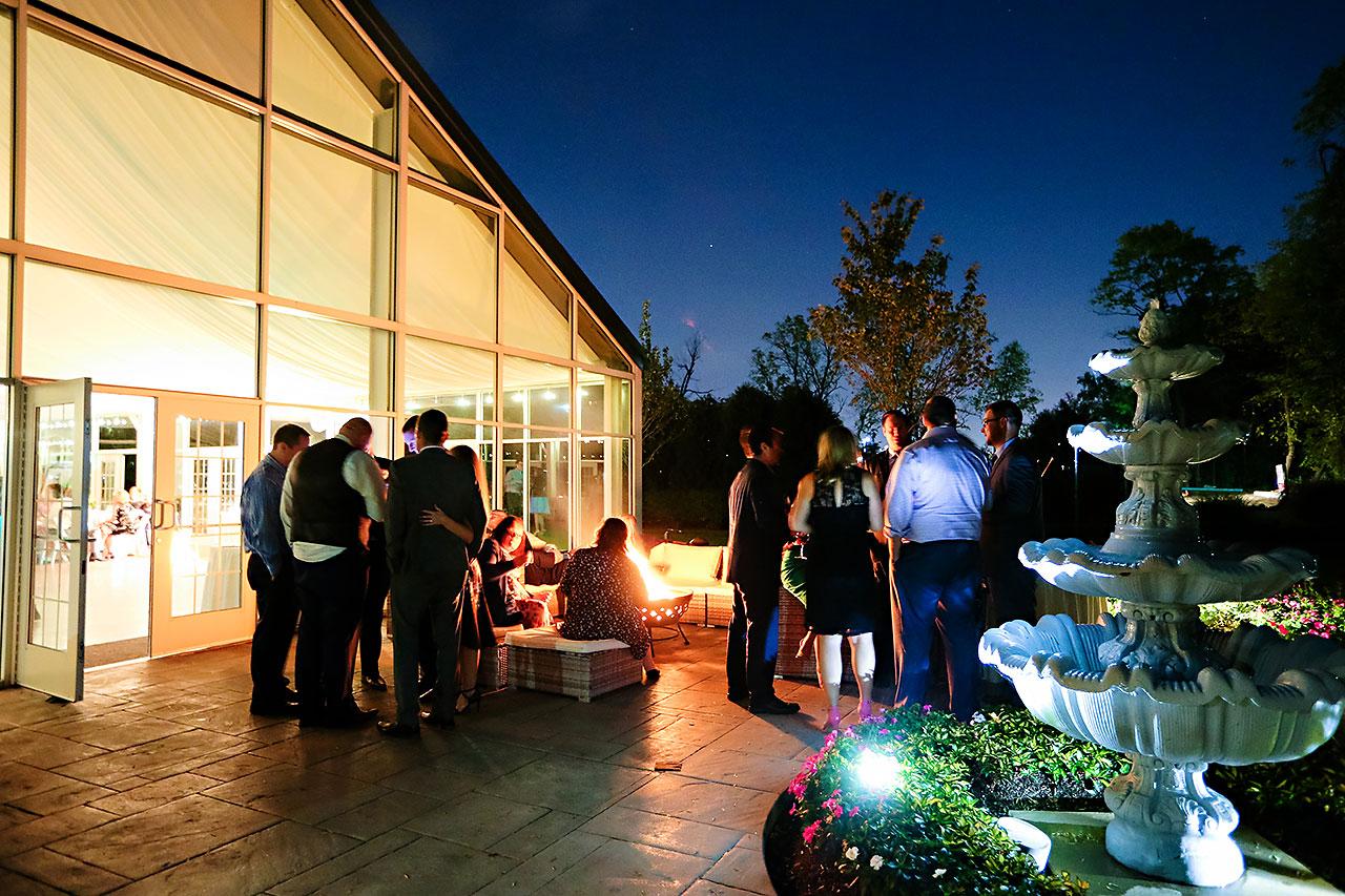 Jen Chris Ritz Charles Garden Pavilion Wedding 377