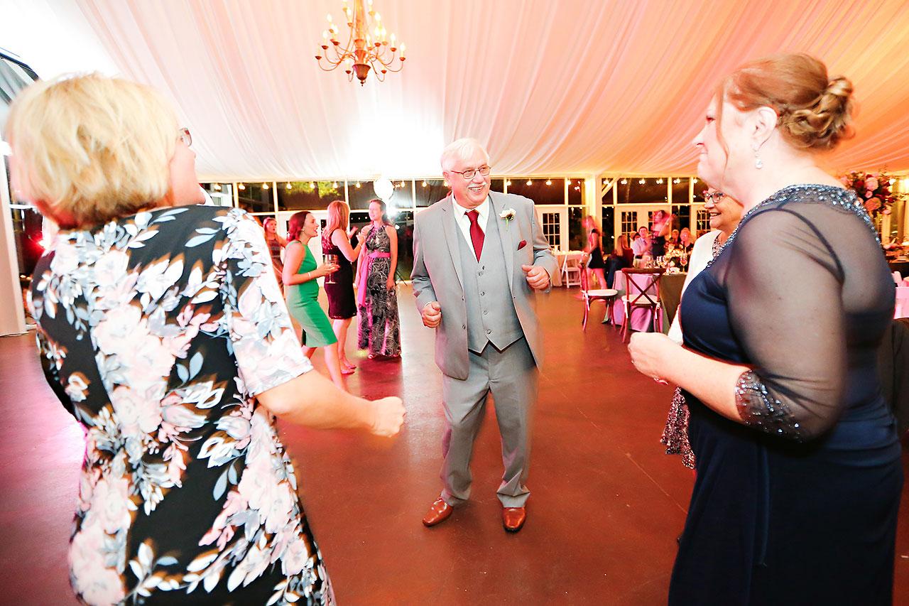 Jen Chris Ritz Charles Garden Pavilion Wedding 370