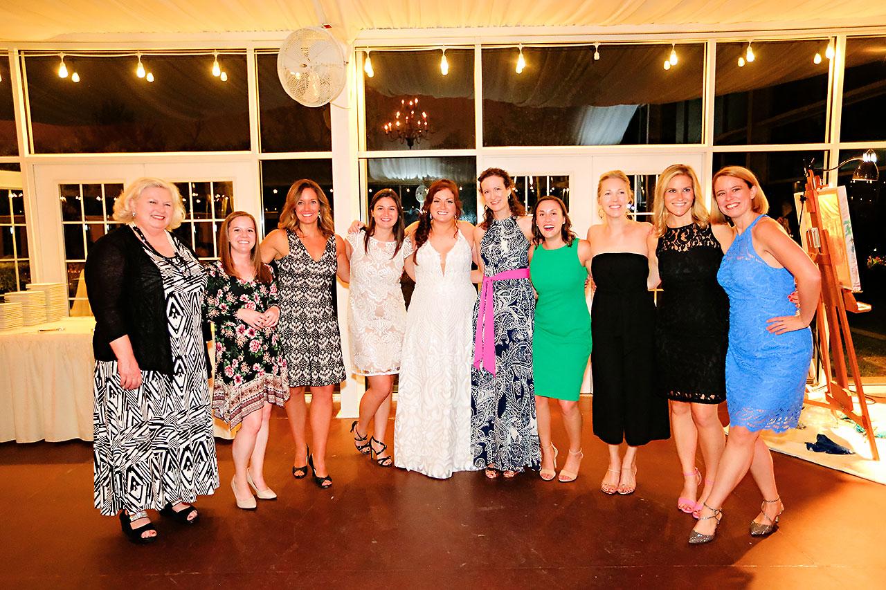 Jen Chris Ritz Charles Garden Pavilion Wedding 368