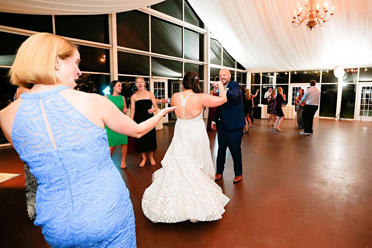 Jen Chris Ritz Charles Garden Pavilion Wedding 366