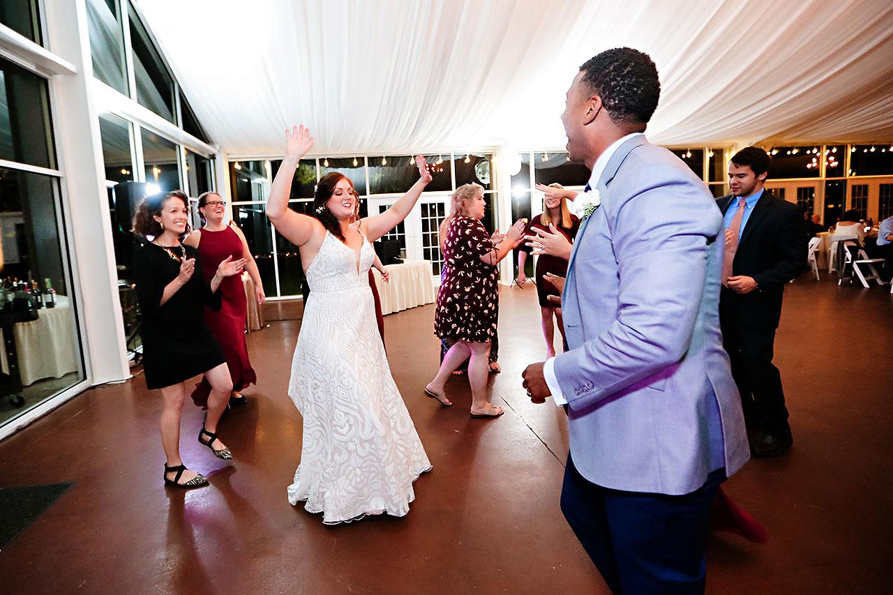 Jen Chris Ritz Charles Garden Pavilion Wedding 361