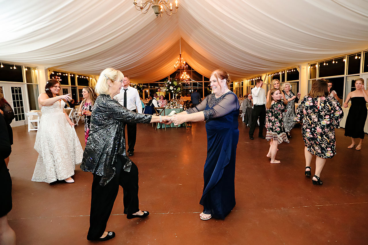 Jen Chris Ritz Charles Garden Pavilion Wedding 362