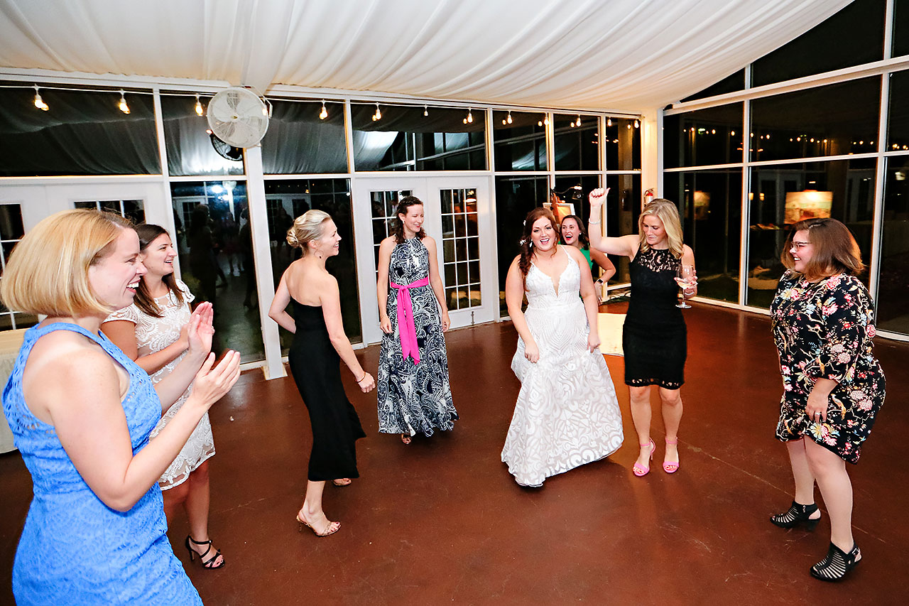 Jen Chris Ritz Charles Garden Pavilion Wedding 363