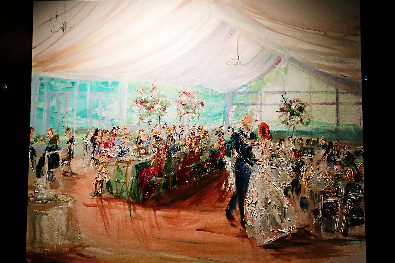 Jen Chris Ritz Charles Garden Pavilion Wedding 359