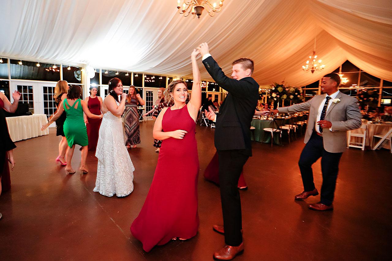 Jen Chris Ritz Charles Garden Pavilion Wedding 358