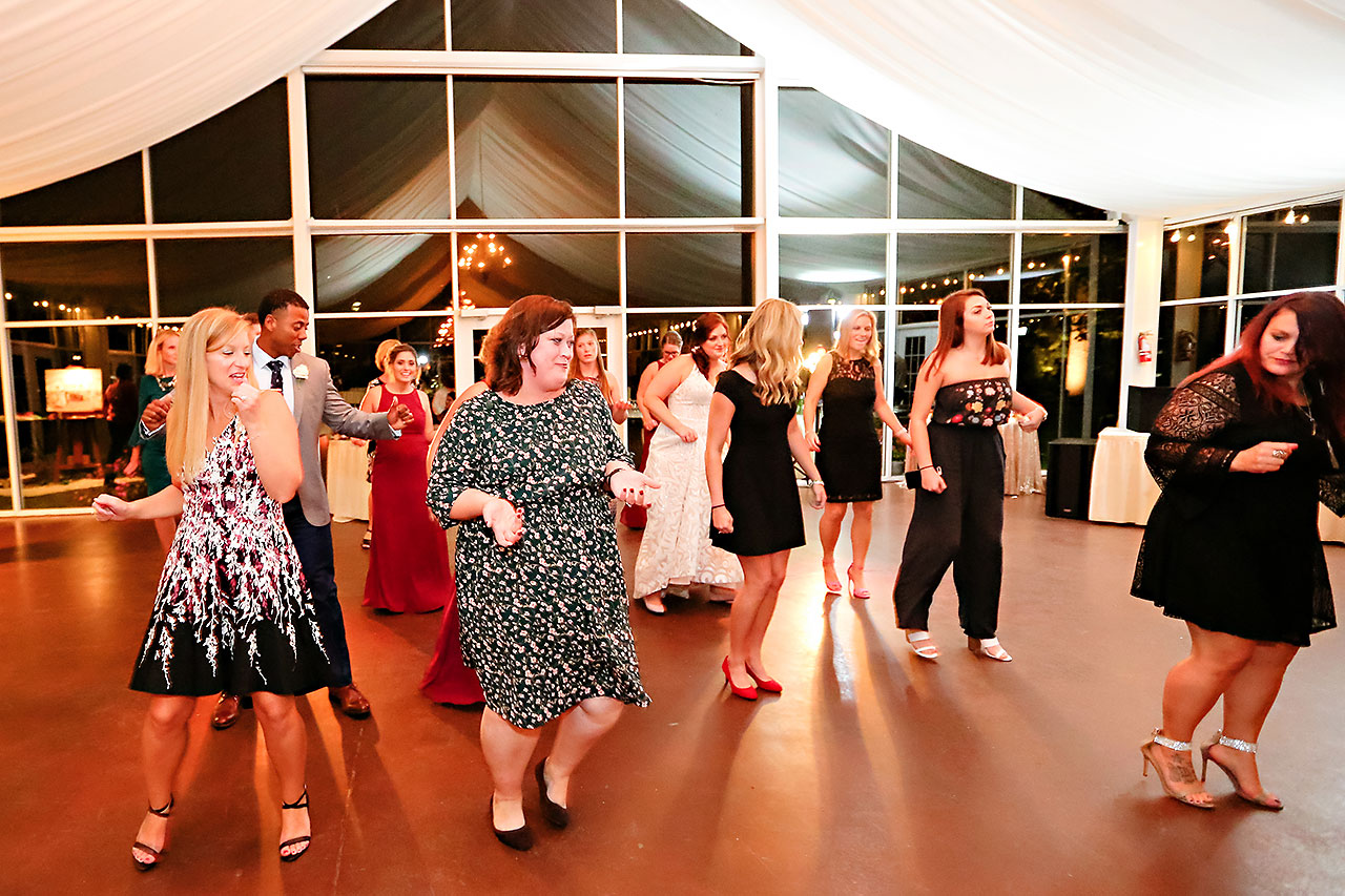 Jen Chris Ritz Charles Garden Pavilion Wedding 355
