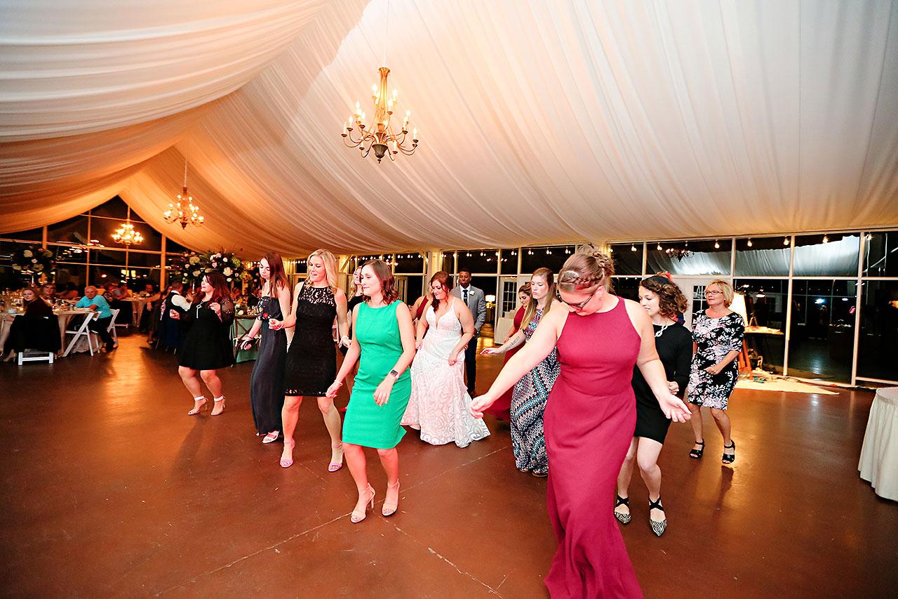 Jen Chris Ritz Charles Garden Pavilion Wedding 356