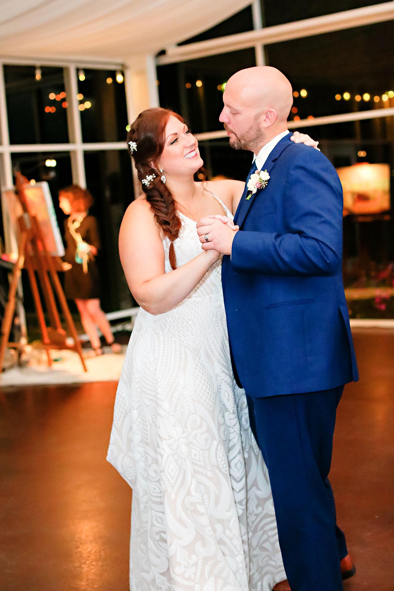 Jen Chris Ritz Charles Garden Pavilion Wedding 343